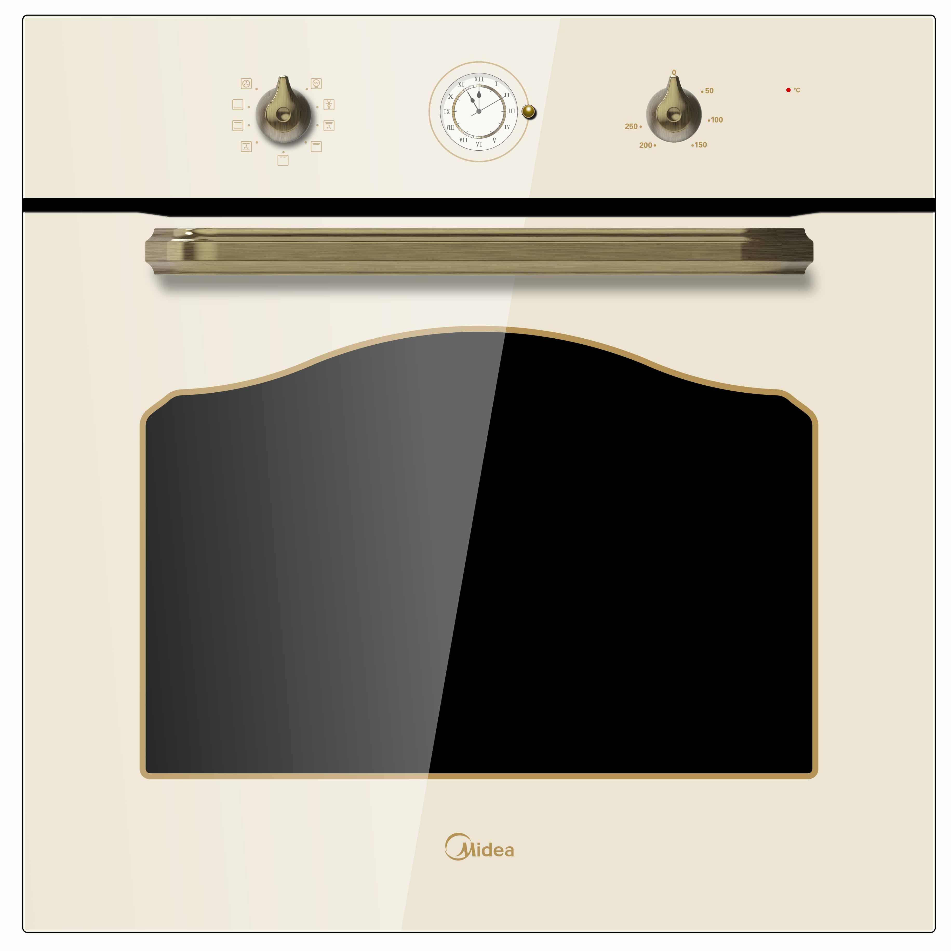 Встраиваемый электрический духовой шкаф   MO58110RGI