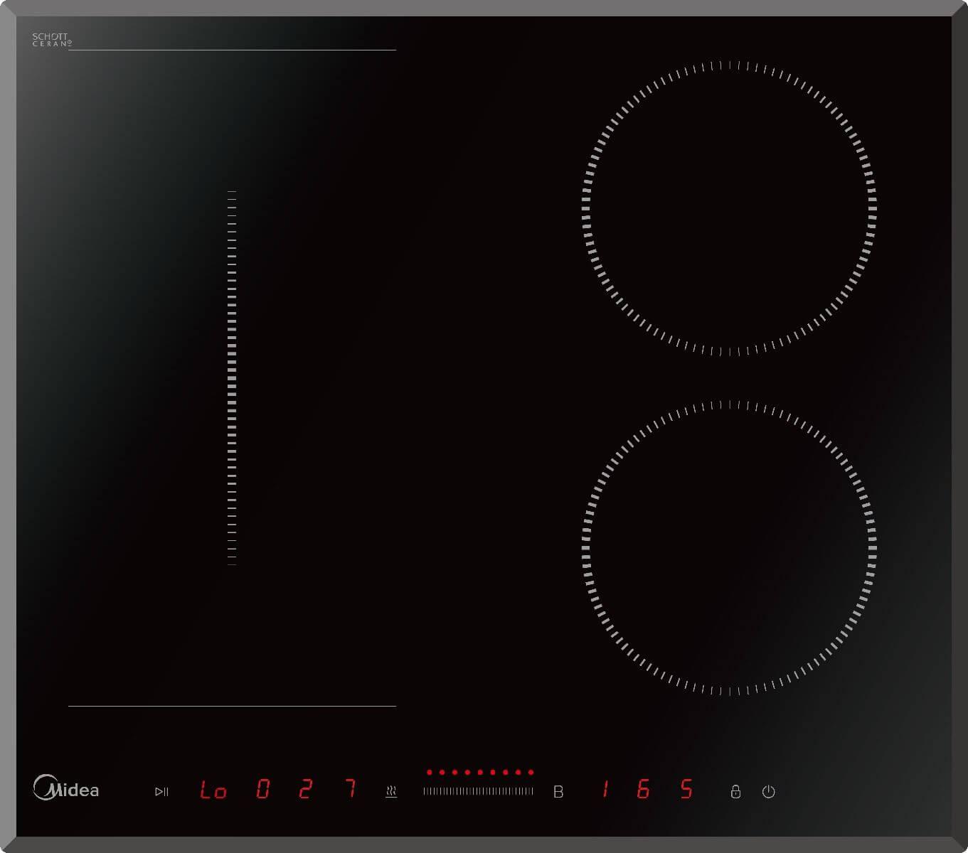 Индукционная варочная панель Midea MIH65722F фото