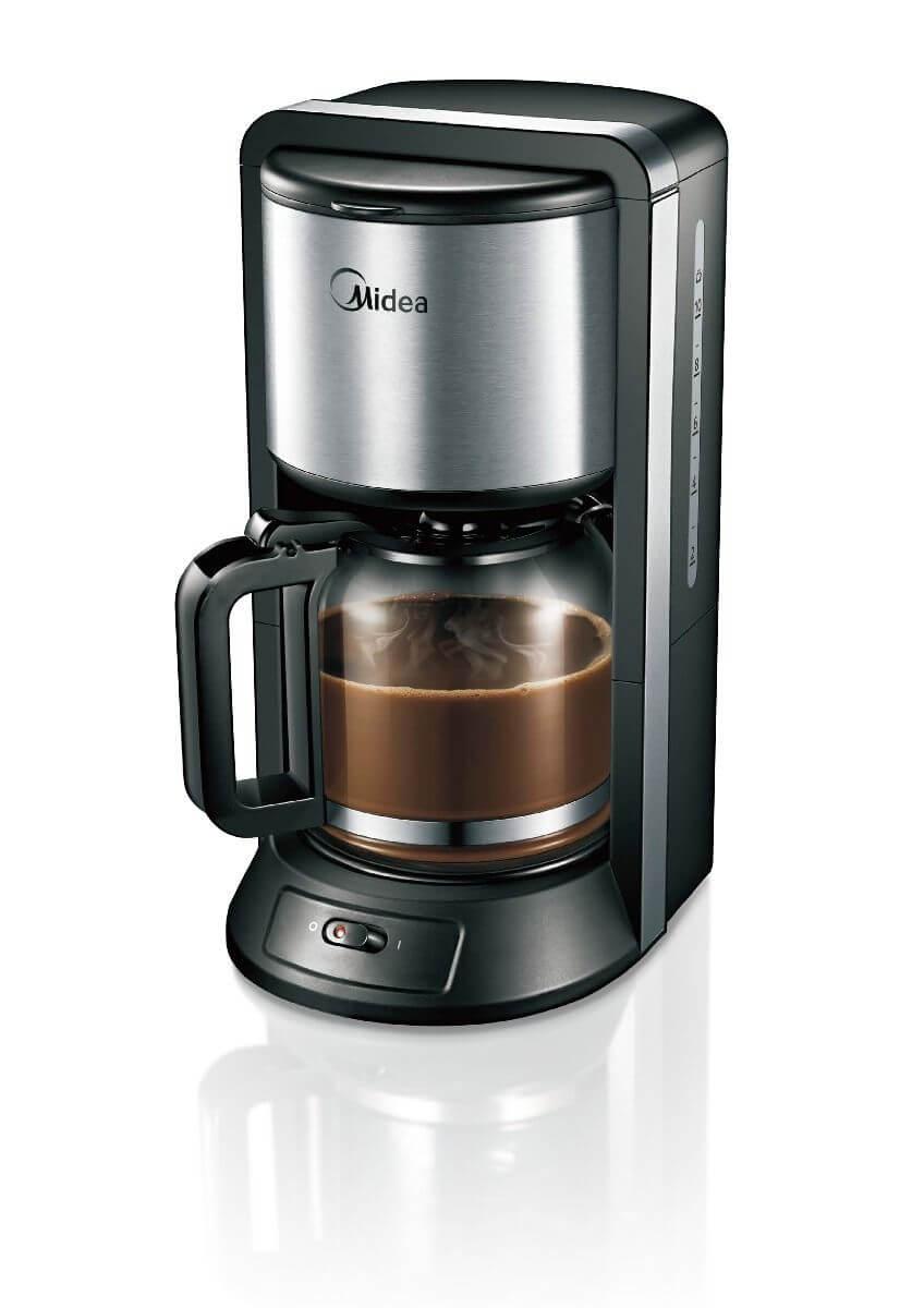 Кофеварка капельного типа midea cfm 1500