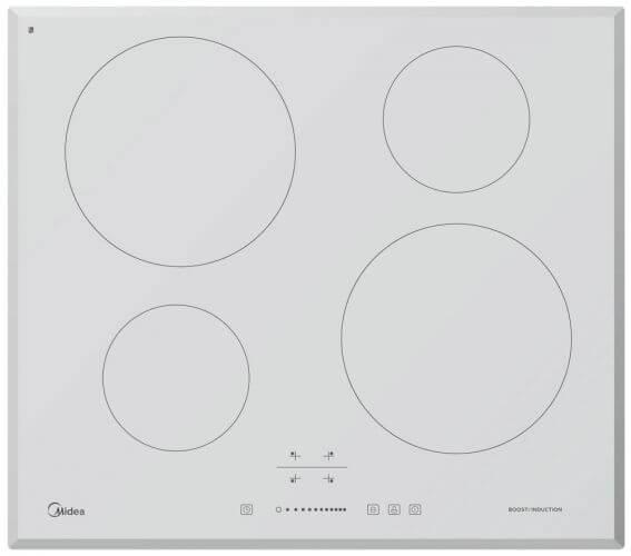 Варочная панель электрическая, индукционная MIDEA MC-IF7021B2-WH фото